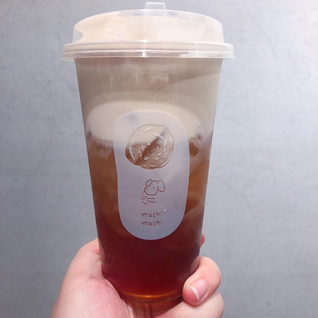 震惊!!!machi奶茶竟然火到国外去了?