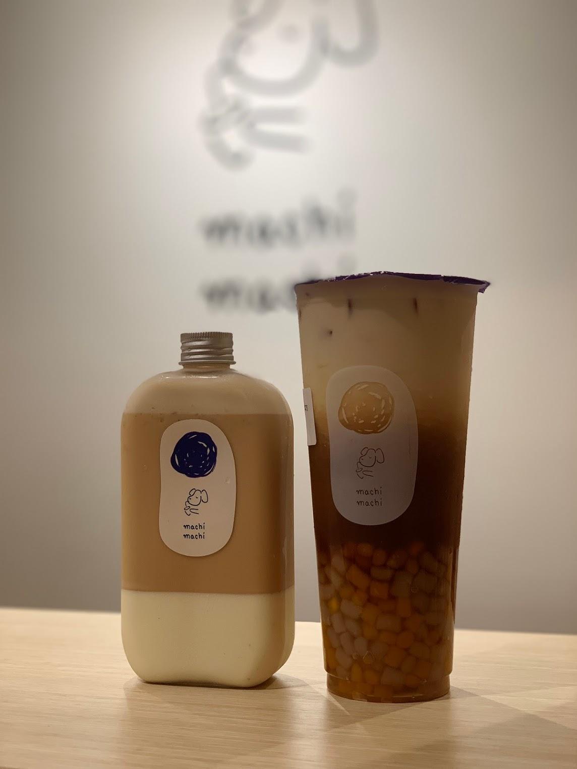 最好的machi麦吉奶茶配最好的你